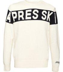 apres-ski blended cashmere mans sweater