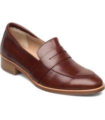 loafer - flat loafers låga skor brun angulus