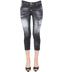 dsquared2 cool girl cropped destroyed jeans