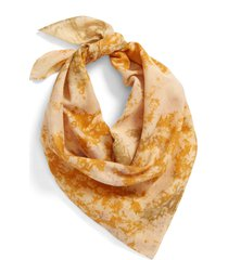 madewell tie-dye organic cotton bandana in avalon pink at nordstrom