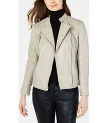 marc new york asymmetrical leather moto jacket