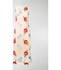 simone rocha floral dress