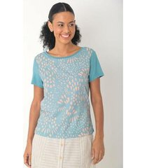 blusa 2 em 1 toque suave feminina - feminino