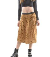 falda italiana lunares amarillo bous