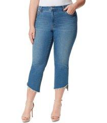 jessica simpson trendy plus size adored kick-flare jeans