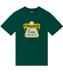 converse camiseta de manga corta vintage logo