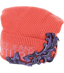 versace jeans couture hats