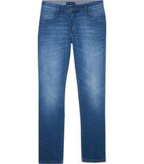 calça dudalina washed blue jeans masculina (jeans medio, 52)