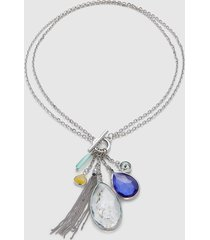 lane bryant women's convertible pendant toggle necklace onesz night sky