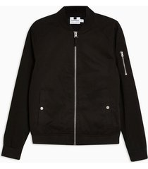 mens black bomber jacket