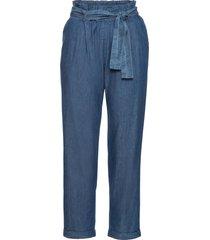 pantaloni con cintura da annodare (blu) - bodyflirt