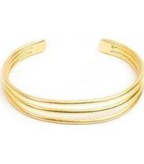 bracelete vestopazzo três arcos feminino - feminino