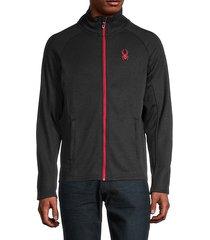 stand-collar raglan-sleeve jacket