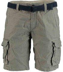 dstrezzed korte broek khaki met print 515176/205