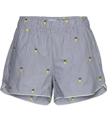 print shorts in poplin shorts gap