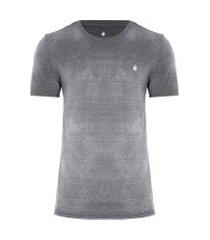 camiseta masculina básica devore - preto