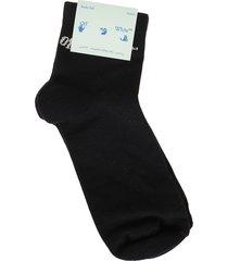 off-white slanted off logo low socks