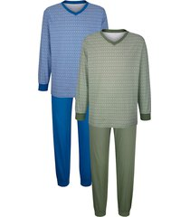 pyjamas roger kent blå::grön