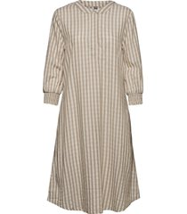 cunoor dress knälång klänning beige culture