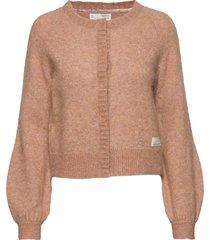 cool with wool cardigan gebreide trui cardigan bruin odd molly