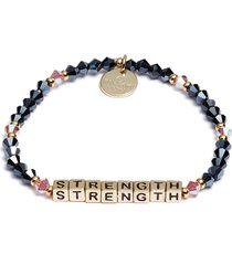 women's little words project strength stretch bracelet