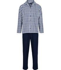 jbs flannel buttoned pyjama