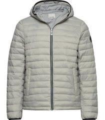 light puffer jacket fodrad jacka grå shine original