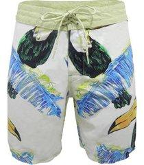bermuda água alma de praia boardshort tucano masculina