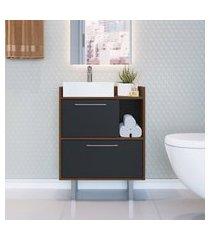balcão para banheiro criando mobilia gb03 gabinete 2 portas