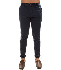 pantalon drill azul oscuro oscar de la renta a9pnt01-blk/ir