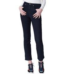 women's universal standard marne high waist bootcut jeans, size 10 - blue