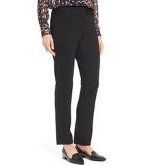 women's vince camuto ponte ankle pants, size 16 - black