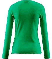shirt met ronde hals, model nasha van bogner groen