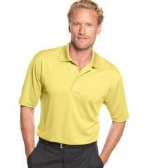 pga tour men's airflux solid golf polo shirt