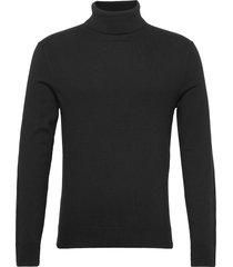 anf mens sweaters knitwear turtlenecks svart abercrombie & fitch