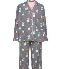 pyjama long pyjamas multi/mönstrad pj salvage