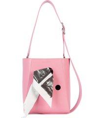 calvin klein 205w39nyc bandana bucket bag - pink