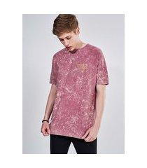 camiseta oversized com estampa