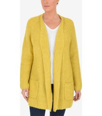 live unlimited plus size longline cardigan with pocket detail
