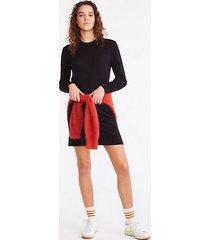 lou & grey signaturesoft plush sweatshirt dress