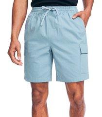 """nautica men's classic-fit 8"""" cargo shorts"""