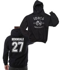 herondale 27 idris university shadowhunters unisex pullover hoodie s-3xl black