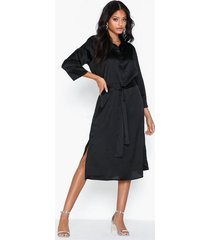 jacqueline de yong jdyfifi 3/4 below knee dress wvn loose fit dresses