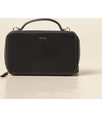 furla crossbody bags furla babylon l leather satchel bag