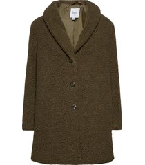 cindysz jacket outerwear faux fur groen saint tropez