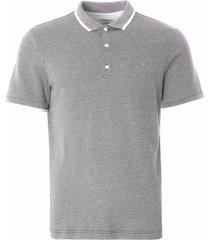 farah scotchill slim fit polo shirt  | true navy | f4kfa025-412