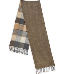 collection double-faced merino wool & cashmere scarf