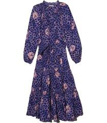 bevyn dress in cobalt