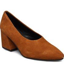 olivia shoes heels pumps classic brun vagabond