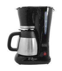 cafeteira black & decker prata cm200 20 cafés jarra inox 110v